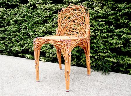驚くべきデザインの椅子4