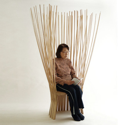 驚くべきデザインの椅子14