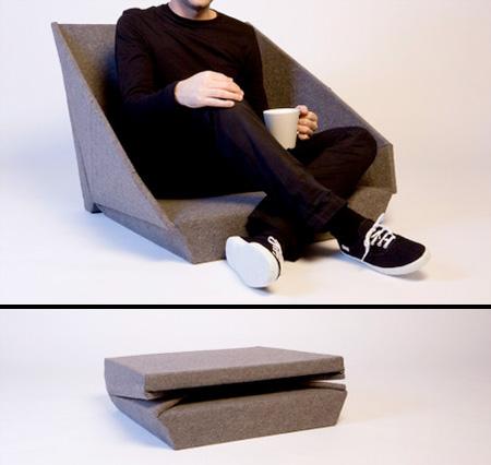 驚くべきデザインの椅子5