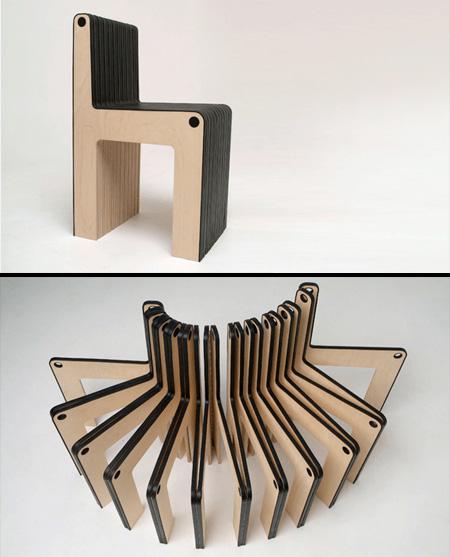 驚くべきデザインの椅子10
