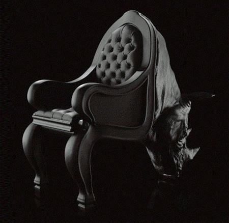 驚くべきデザインの椅子11