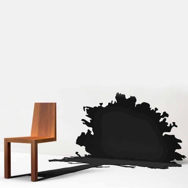 一瞬どうなっているのか目を疑ってしまう椅子「 Shadow Chair」10