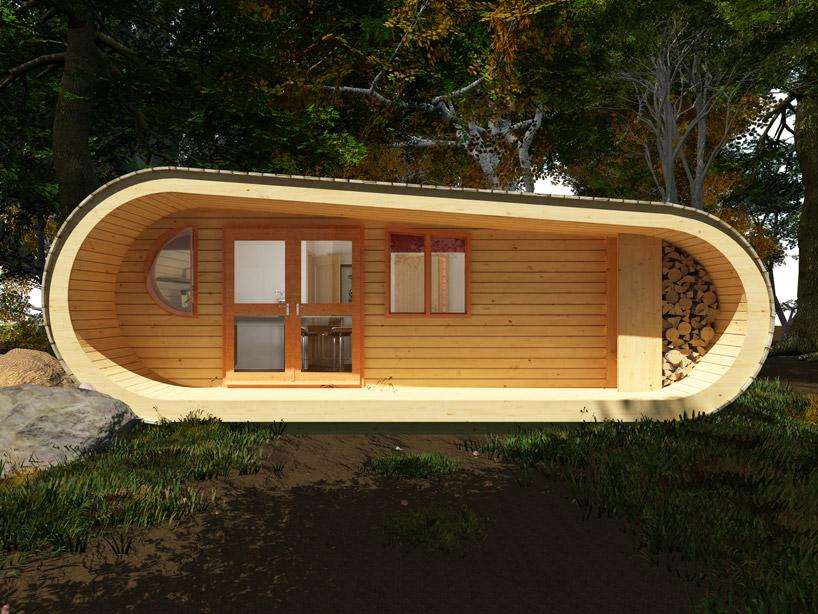 5日間で建てられる、ぬくもりのあるツリーハウス