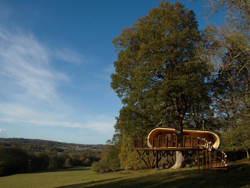 5日間で建てられる、ぬくもりのあるツリーハウス5