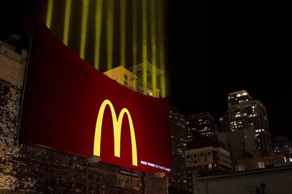 マクドナルドのクリエイティブな広告20選1