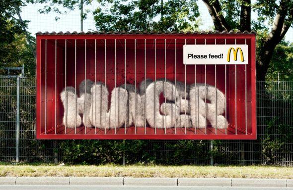 マクドナルドのクリエイティブな広告20選20