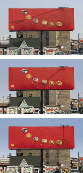 マクドナルドのクリエイティブな広告20選6