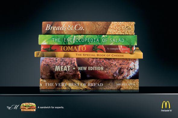 マクドナルドのクリエイティブな広告20選16
