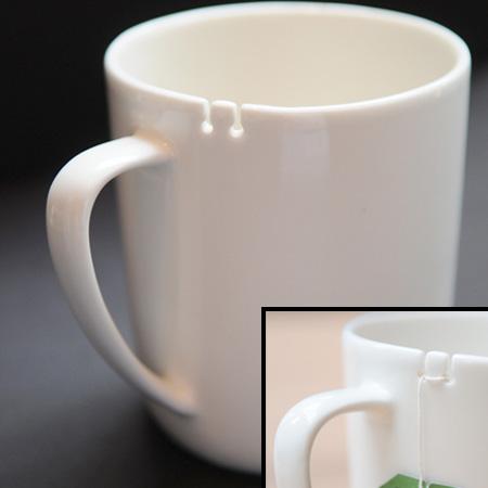 変なマグカップ。7