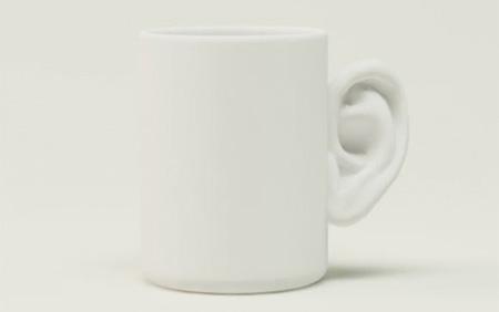 変なマグカップ。5