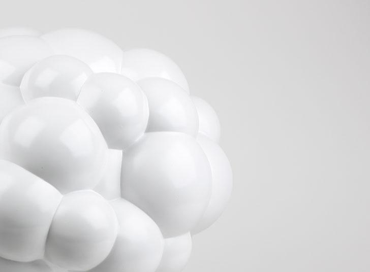 現在、地球上にある23,000発の核兵器撤廃を願ったランプ「Mushroom Lamp」2