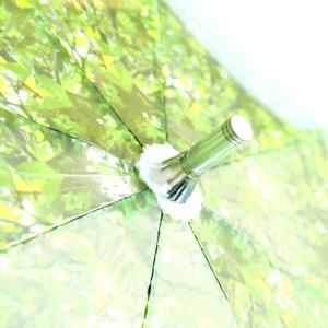 いつでも木漏れ日の中にいることが出来る傘「木漏れ日傘」9
