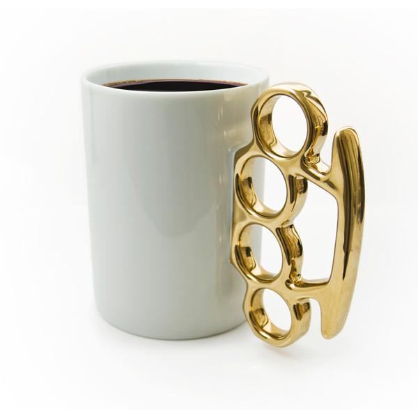 メリケンサックのマグカップ「mug!」2