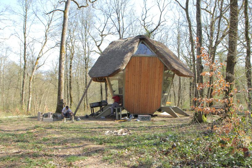 森の中の隠れ家7