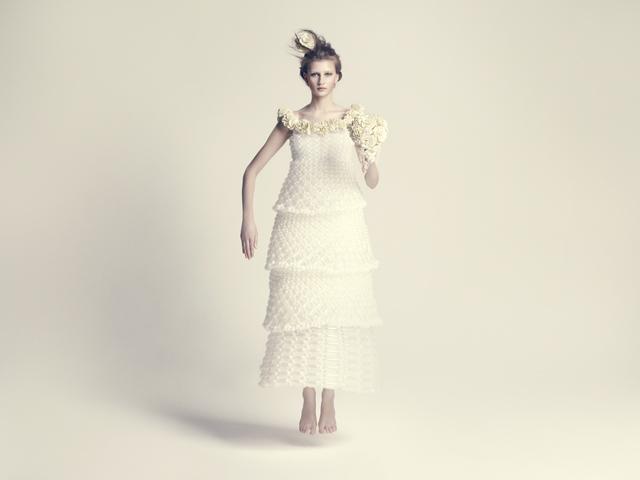 バルーンアーティスト細貝理恵によるバルーンドレス。風船やLEGOなどを使った新作ファッション19