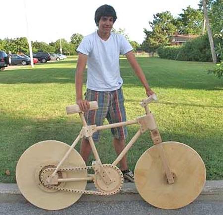 変てこりんな自転車