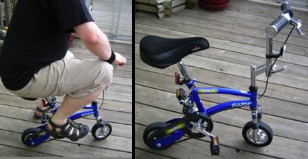 変てこりんな自転車2