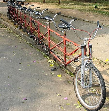 変てこりんな自転車7