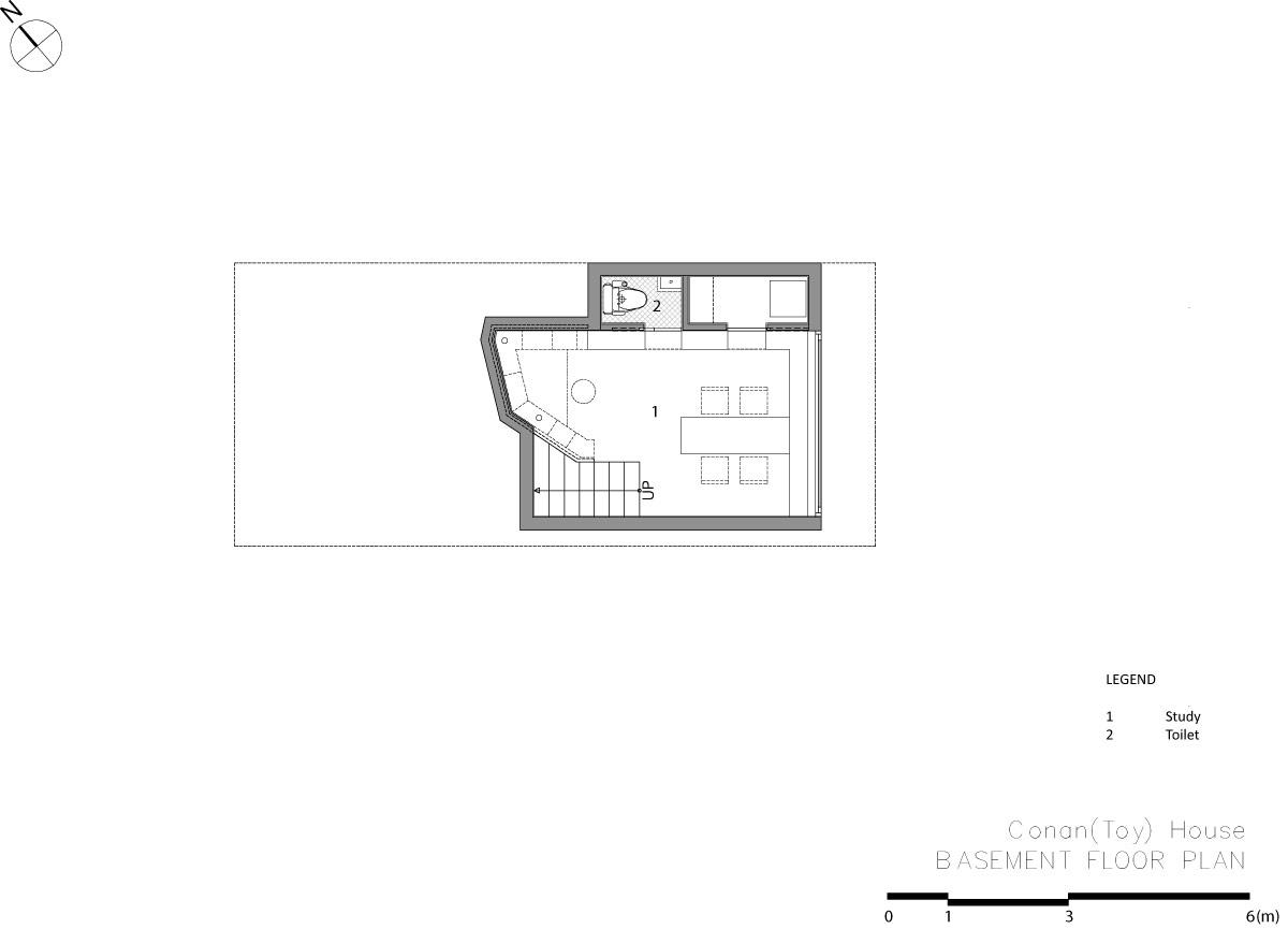 家の中に滑り台など遊び場がある家15