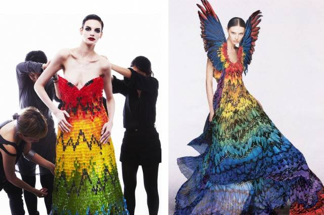 バルーンアーティスト細貝理恵によるバルーンドレス。風船やLEGOなどを使った新作ファッション13