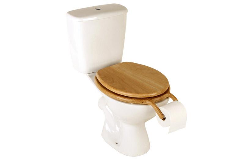 意外なところにトイレットペーパーがついているトイレ4