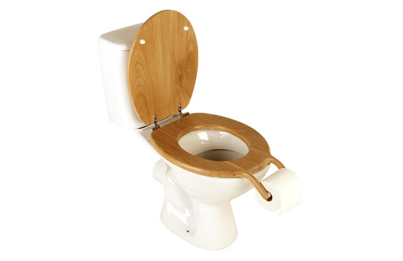 意外なところにトイレットペーパーがついているトイレ5