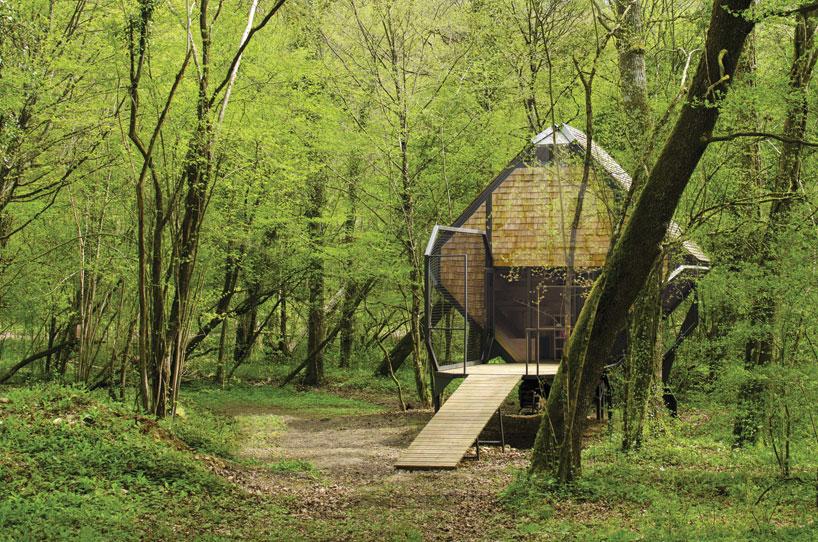 森の中の隠れ家10