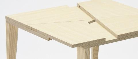 手品のような仕掛けを持っているテーブル「TRICK」3