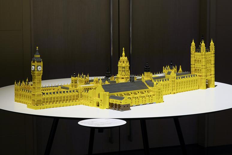 レゴでつくったウェストミンスター宮殿、ウェストミンスター大寺院及び聖マーガレット教会