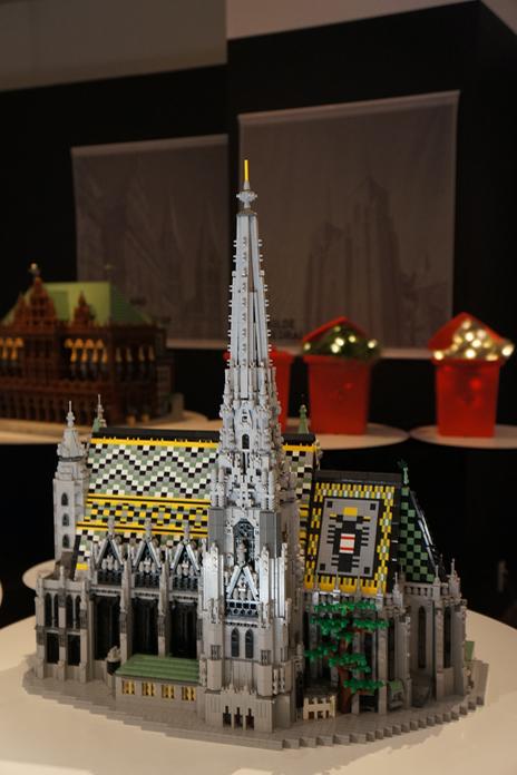 レゴブロックで出来たウィーン歴史地区