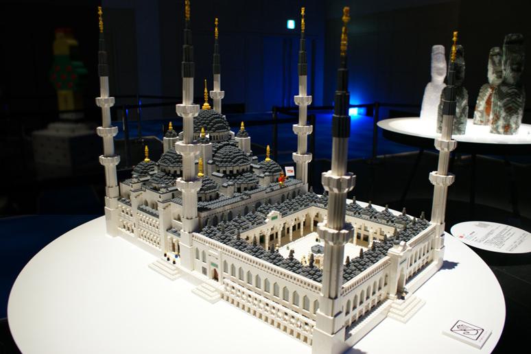 レゴブロックで出来たイスタンブール歴史地域