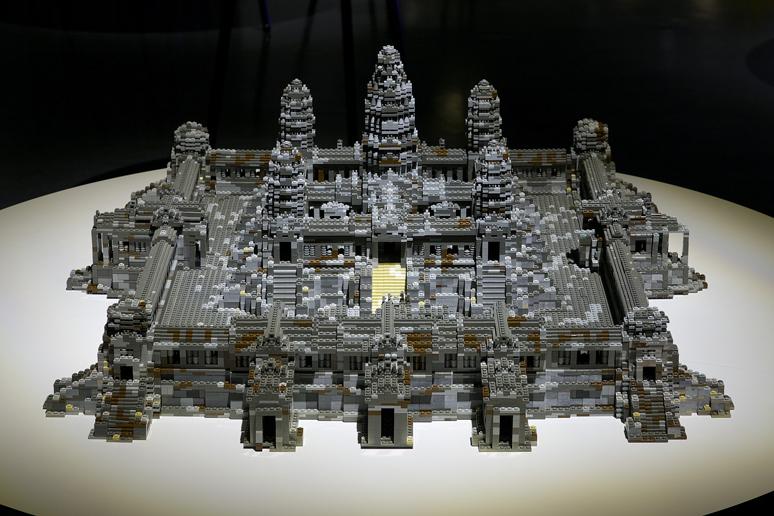 レゴブロックでつくったアンコールワット レゴブロックで出来た世界遺産~アフリカ・アジアの世界遺産