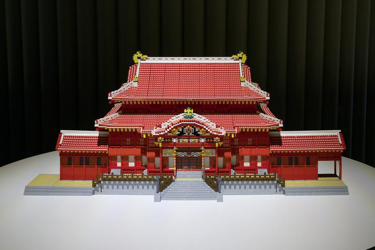 レゴブロックでつくった琉球王国のグスク及び関連遺産群
