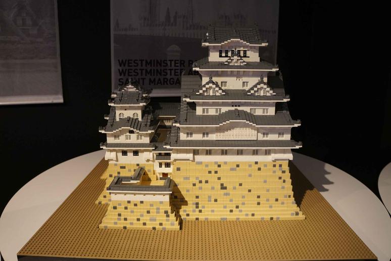 レゴブロックでつくった姫路城