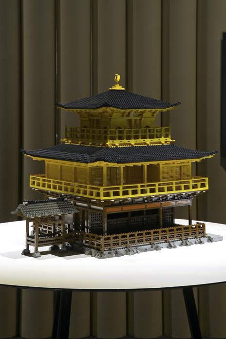 レゴブロックでつくった古都京都の文化財(京都市、宇治市、大津市)