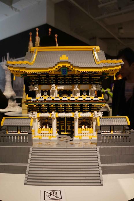 レゴブロックでつくった日光の社寺