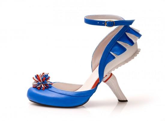 おしゃれなハイヒールKobiLevi Cheerleader blue 1