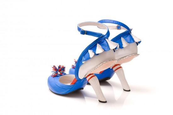 おしゃれなハイヒールKobiLevi Cheerleader blue 3