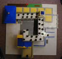 レゴでつくったエッシャーの滝