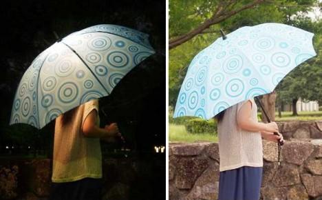 光るファッション傘 bright night(ブライトナイト)4