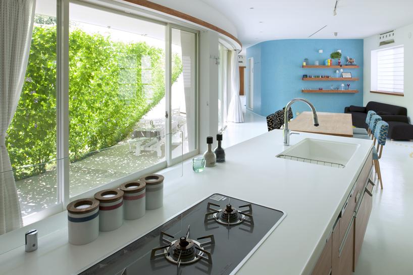 熊木英雄建築事務所の「緑のカーテンの家」4