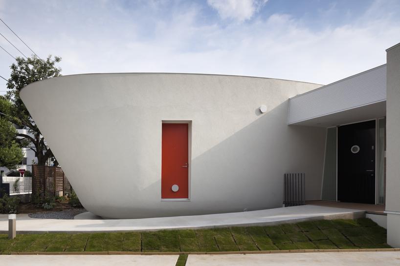 熊木英雄建築事務所の「緑のカーテンの家」5
