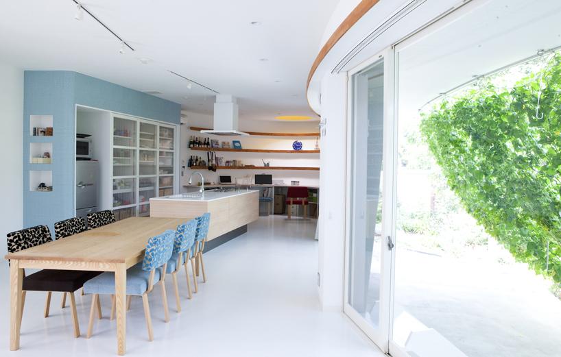 熊木英雄建築事務所の「緑のカーテンの家」7