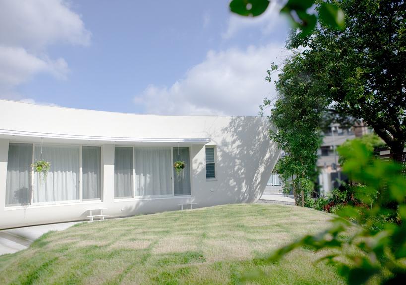 熊木英雄建築事務所の「緑のカーテンの家」8