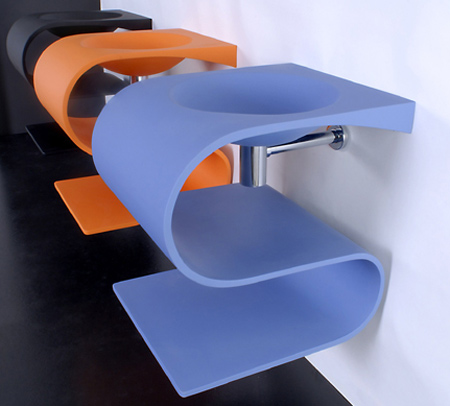 クリエイティブなデザインのシンク12