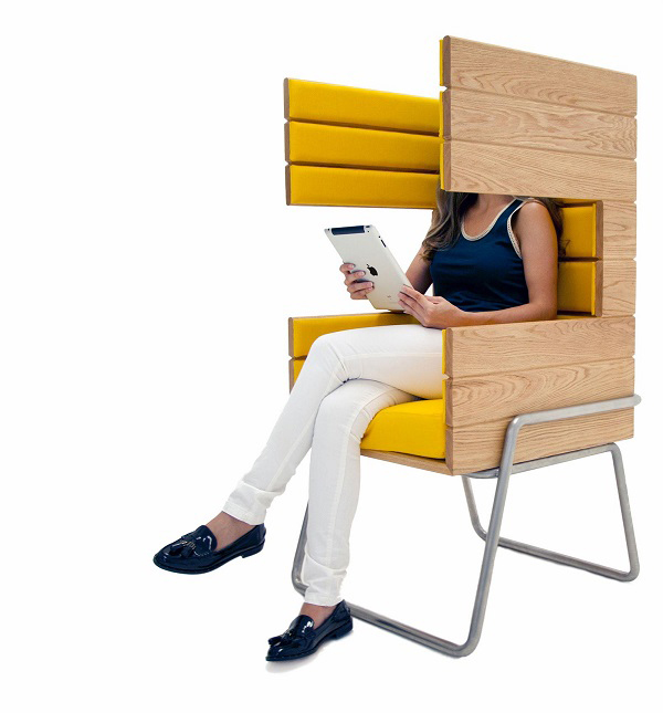 "Eye-Catching ""Gi Booth"" Chair by Jakob Gomez2"