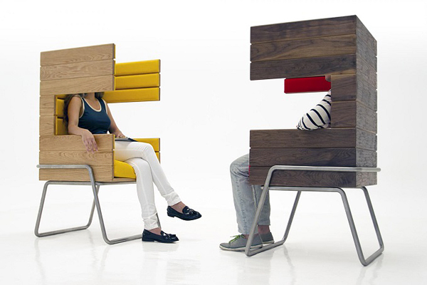 "Eye-Catching ""Gi Booth"" Chair by Jakob Gomez3"