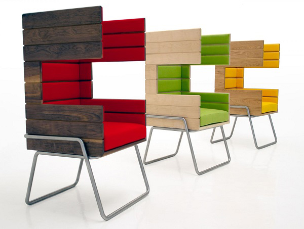 "Eye-Catching ""Gi Booth"" Chair by Jakob Gomez4"