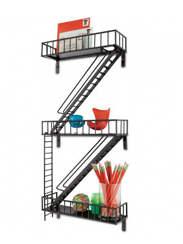 Fire Escape Wall Shelf5