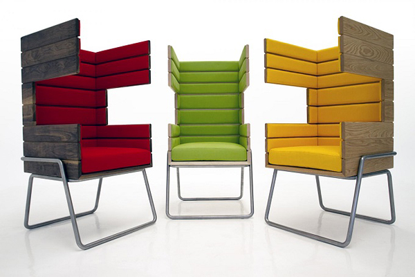 "Eye-Catching ""Gi Booth"" Chair by Jakob Gomez5"